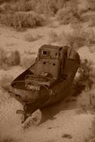 Moynaq, Aral sea/Moynaq, mer d'Aral