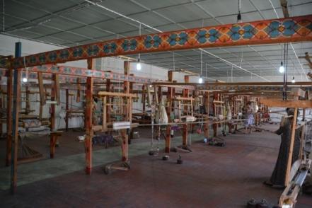 Yodgorlik silk factory Margilan